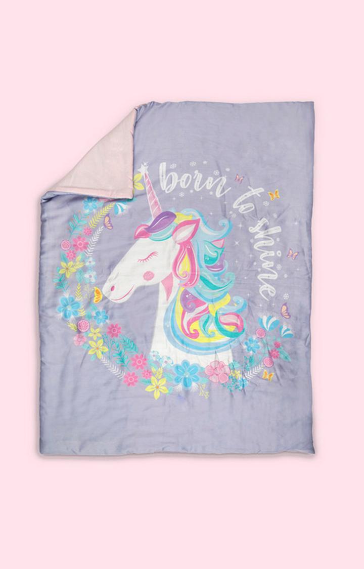 Mothercare | Fancy Fluff Organic Toddler Comforter - Unicorn