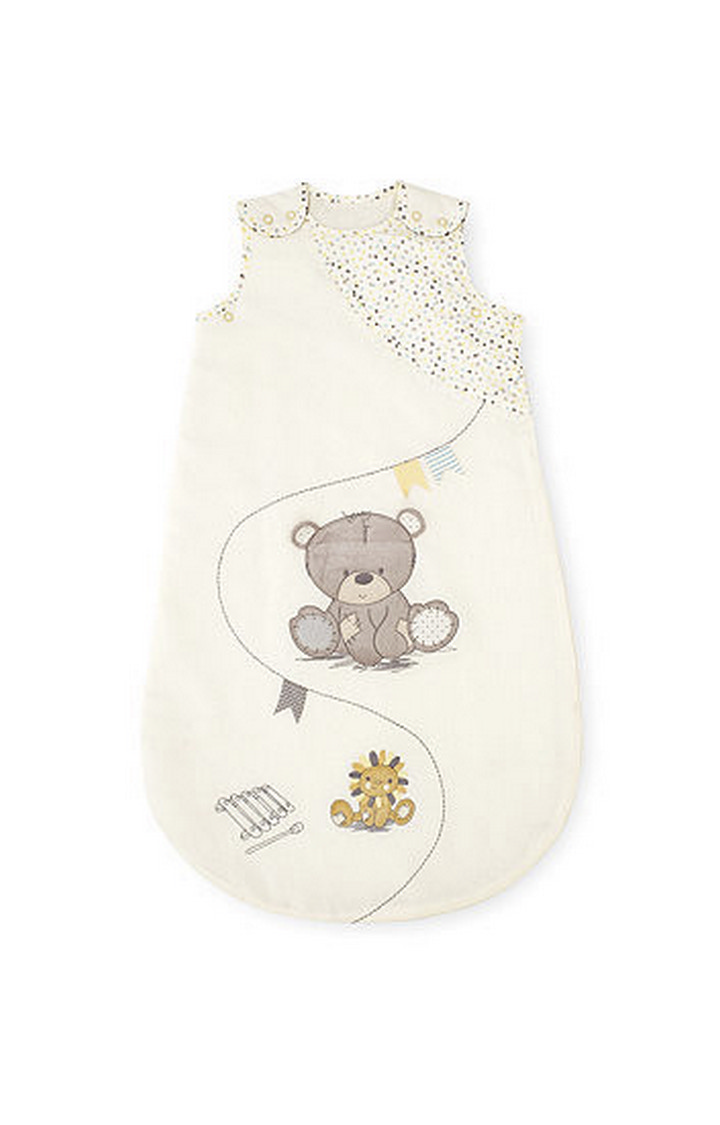 Mothercare | Teddy's Toy Box Snoozie Sleep Bag 0-6 Months - 1 Tog
