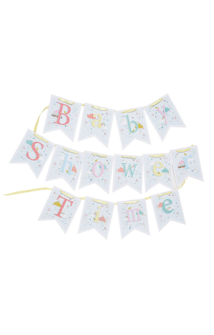 Mothercare | Baby Shower Time Bunting