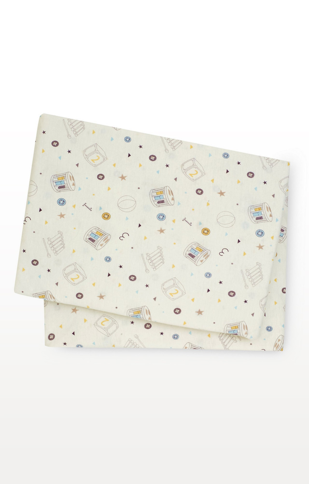 Mothercare | Light Yellow Printed Mattress Cover