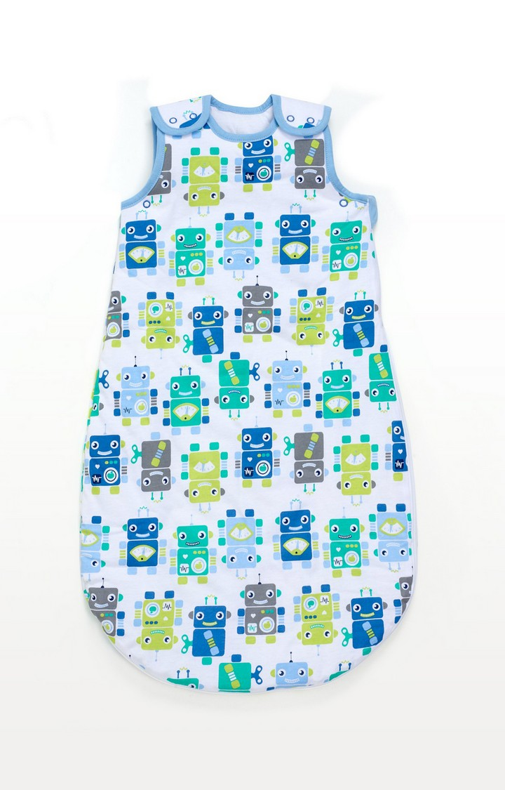 Mothercare | Robots Snoozie Sleep Bag 18-36 Months - 2.5 Tog