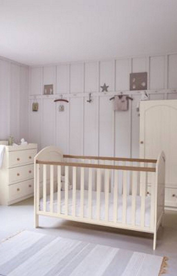 Mothercare | Mothercare Marlow Cot Bed Cream