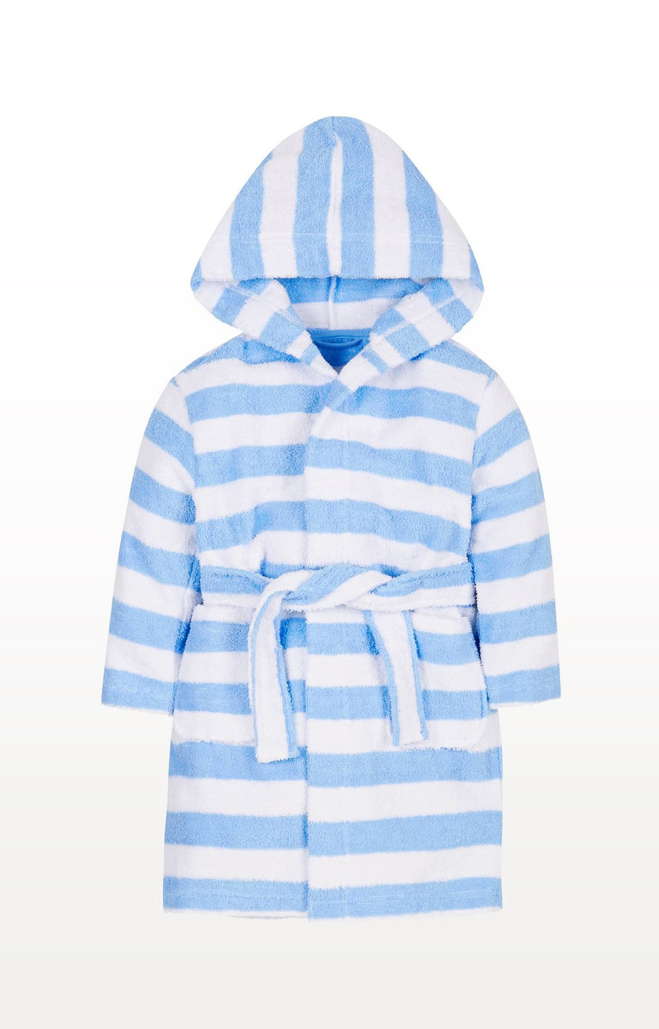Mothercare | Blue Stripe Towelling Robe