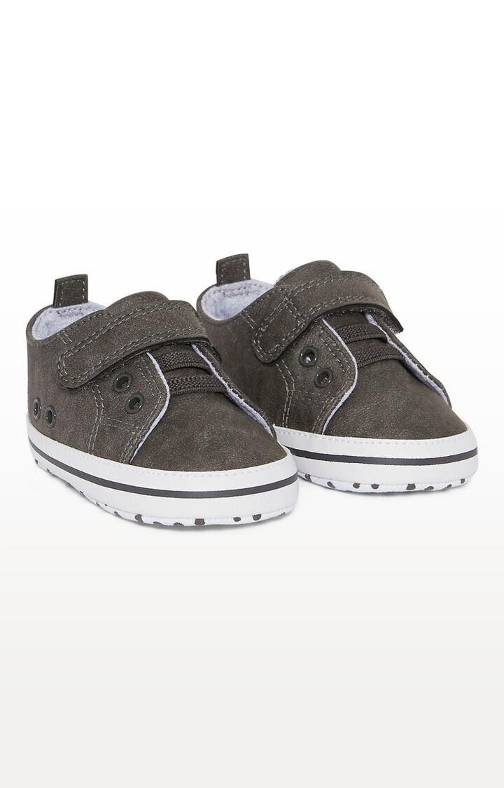 Mothercare | Grey Printed Grey Pram Shoes