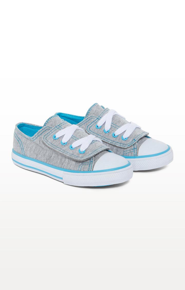 Mothercare   Mock Lace Canvas Shoes