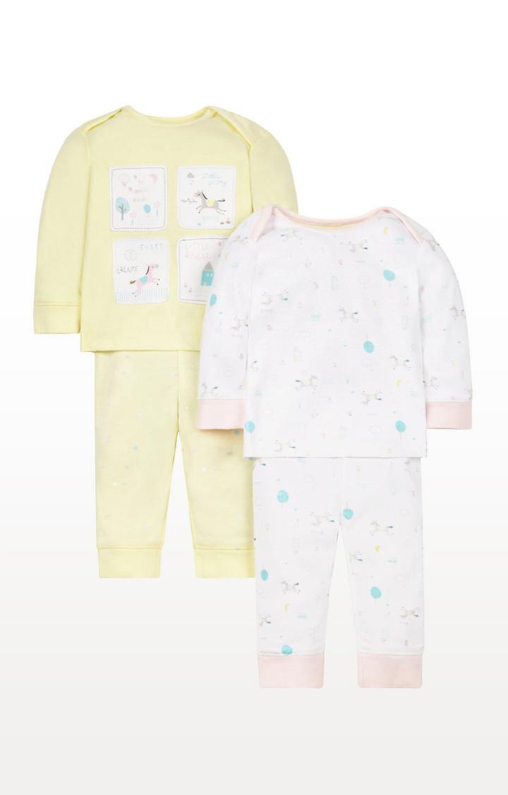 Mothercare   Sweet Dreams Pyjamas - 2 Pack