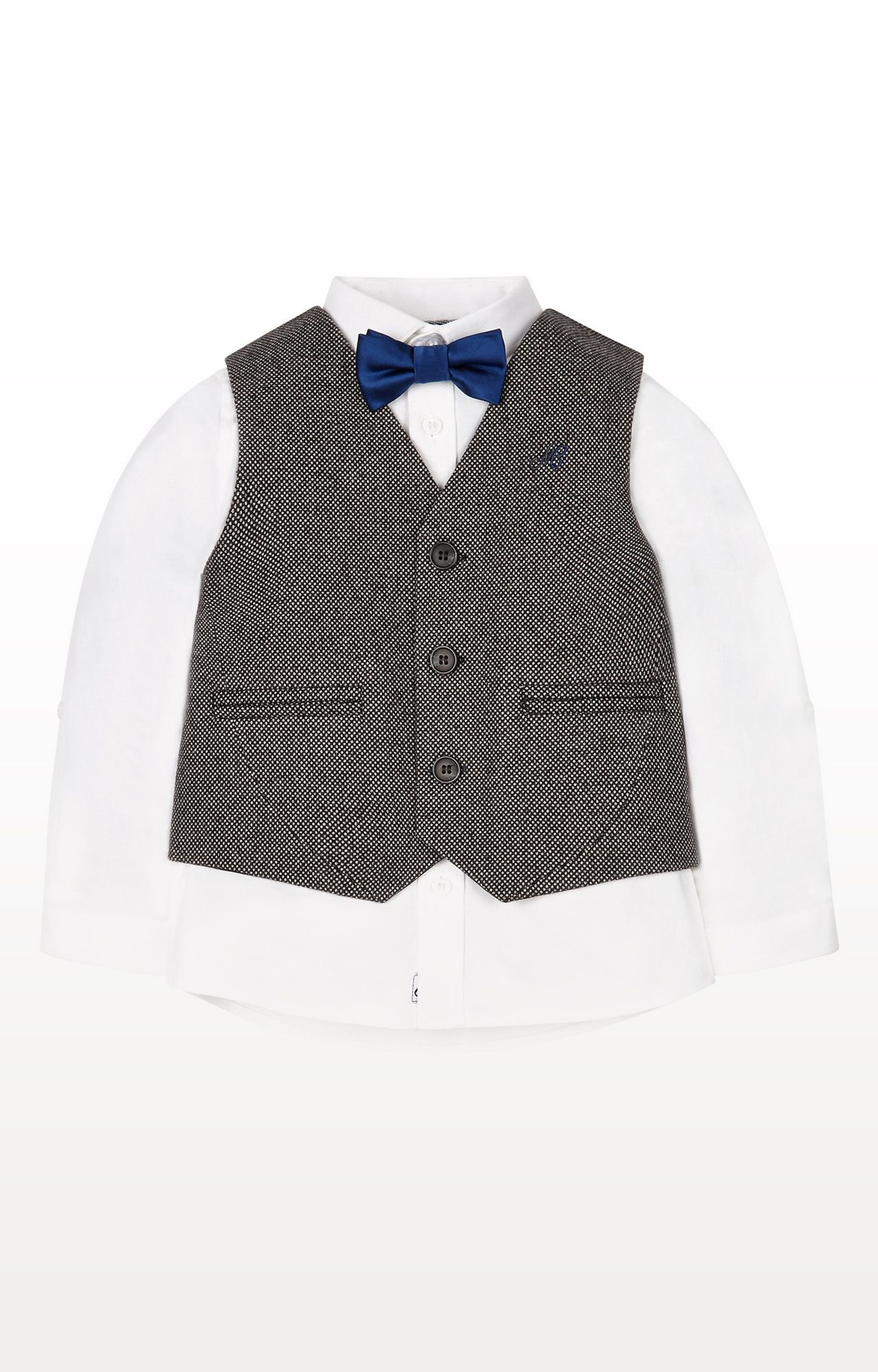 Mothercare | Shirt, Waistcoat and Bow Tie Set