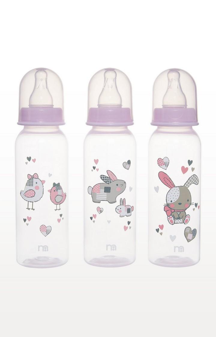 Mothercare | Pink Standard Baby Bottles
