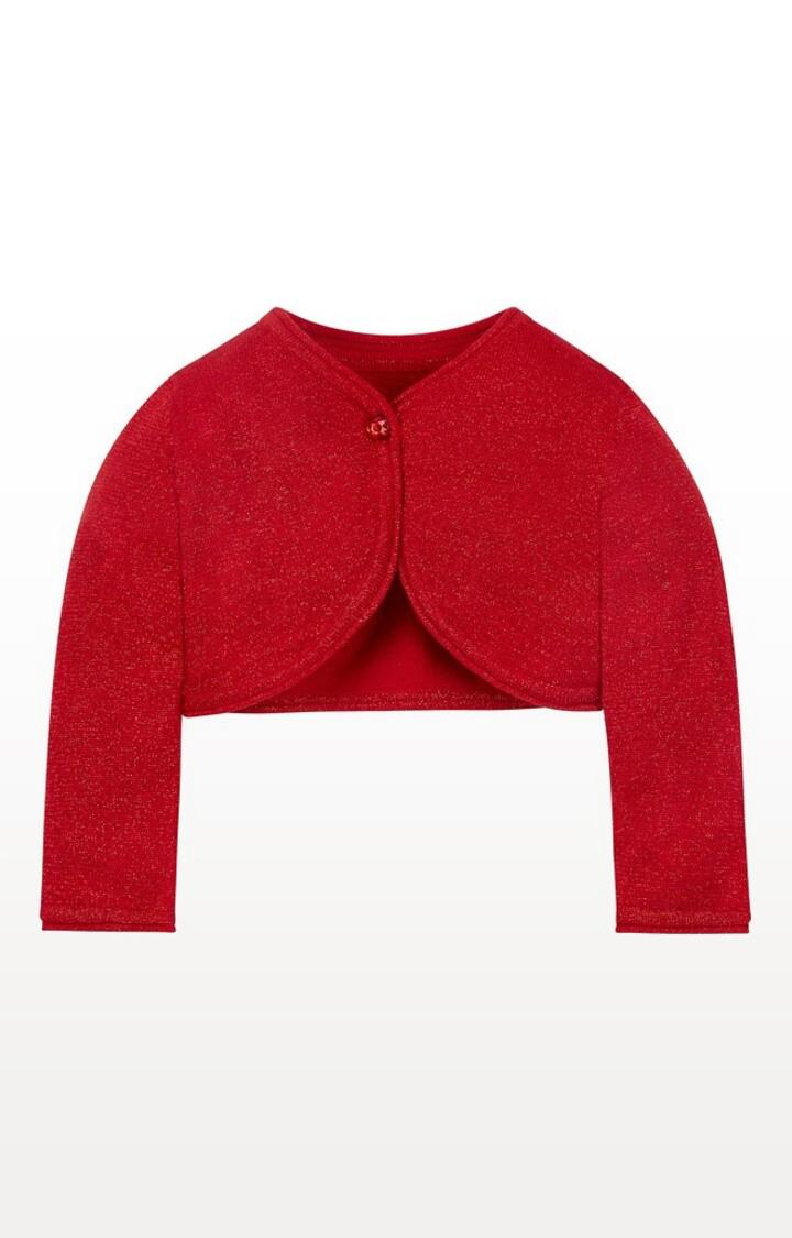 Mothercare | Red Printed Bolero