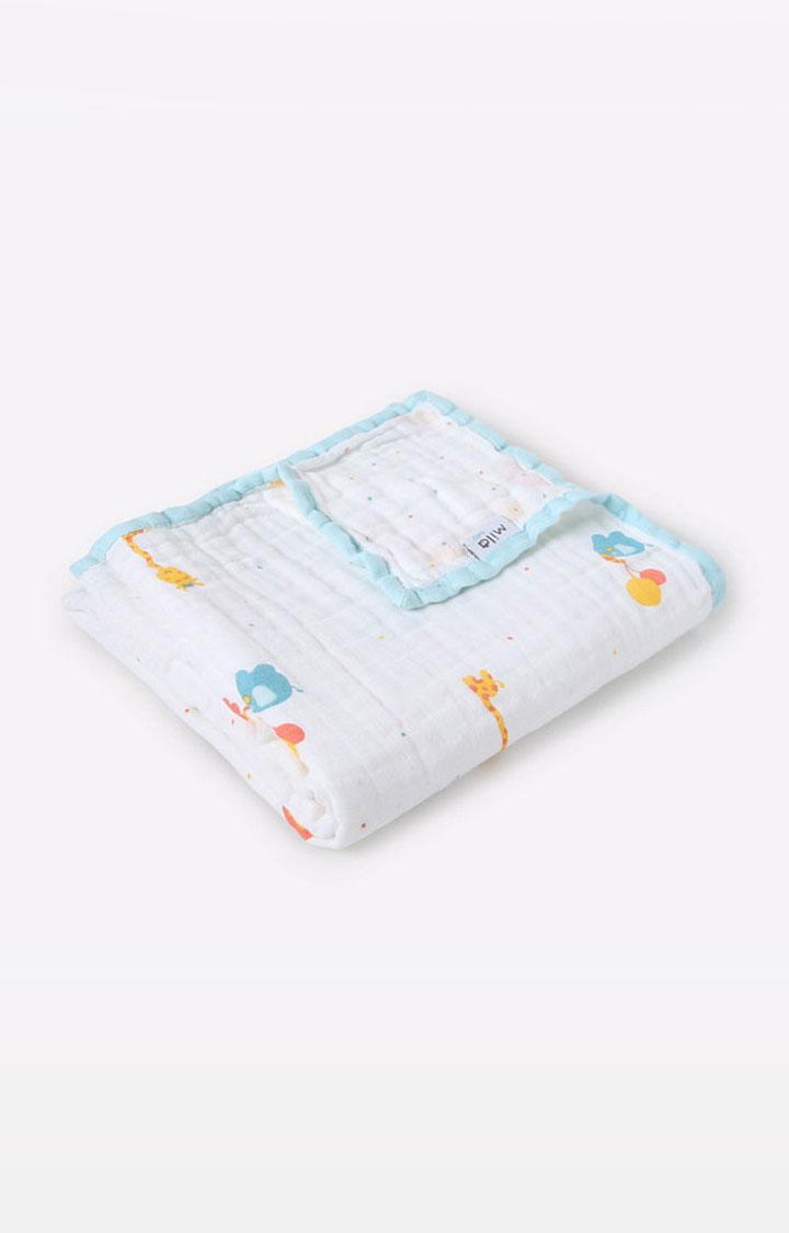 Mothercare | Mila Baby Safari Layered Muslin Blanket