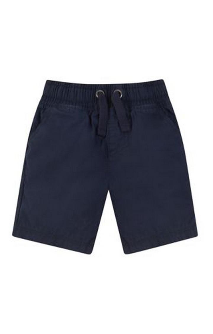 Mothercare   Navy Poplin Shorts