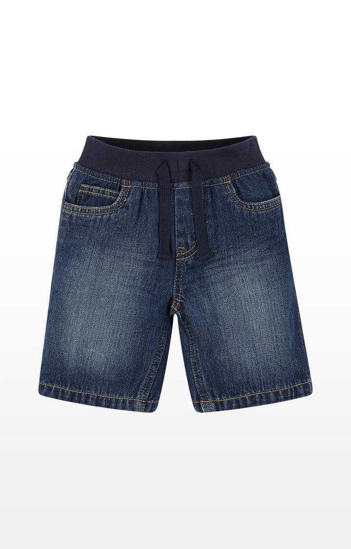Mothercare   Ribwaist Denim Shorts