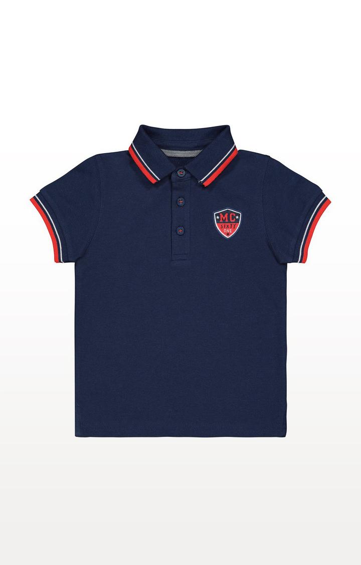 Mothercare | Navy Pique Polo Shirt