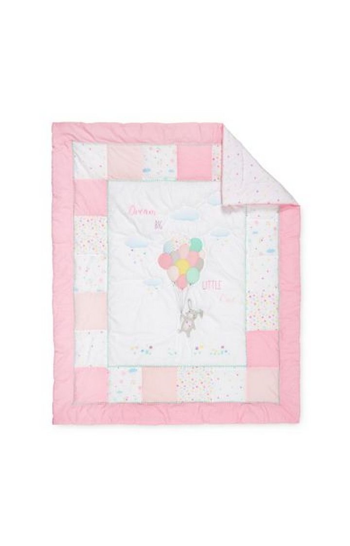 Mothercare | Pink Confetti Party Quilt