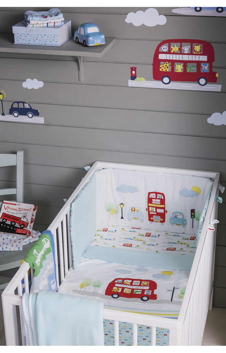 Mothercare | On The Road Fitted Crib Sheets - Pack of 2