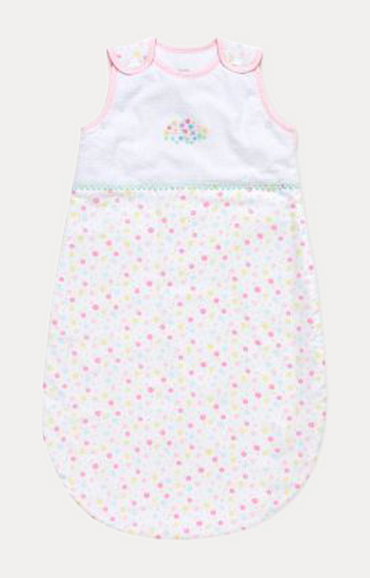 Mothercare | Confetti Party 0-6 Months Snoozie Sleep Bag - 1 Tog