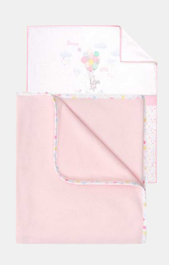 Mothercare | Pink Printed Bedding