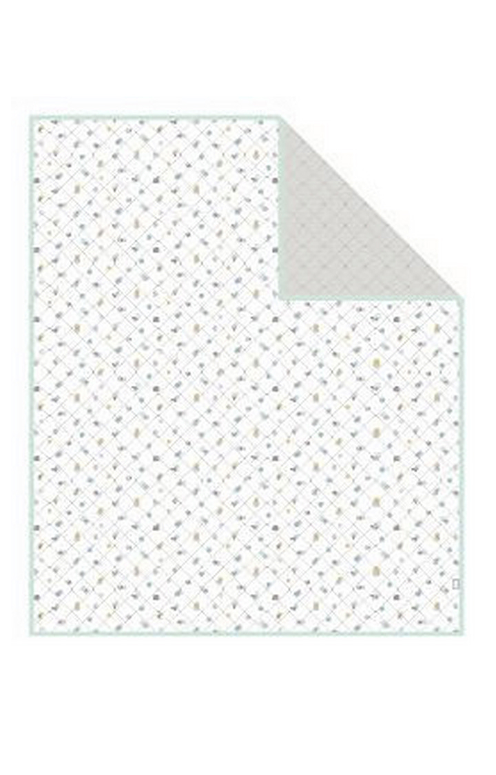 Mothercare | Mint Welcome Home Muslin Coverlet or Blanket