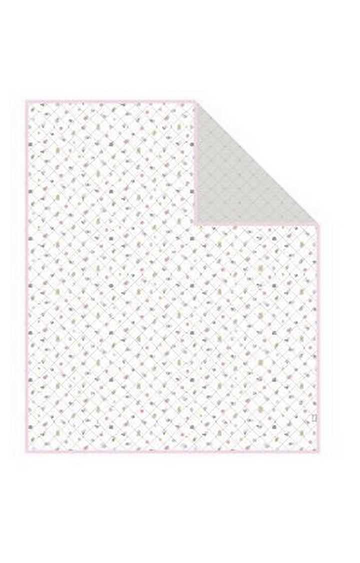 Mothercare | Pink Welcome Home Muslin Coverlet or Blanket