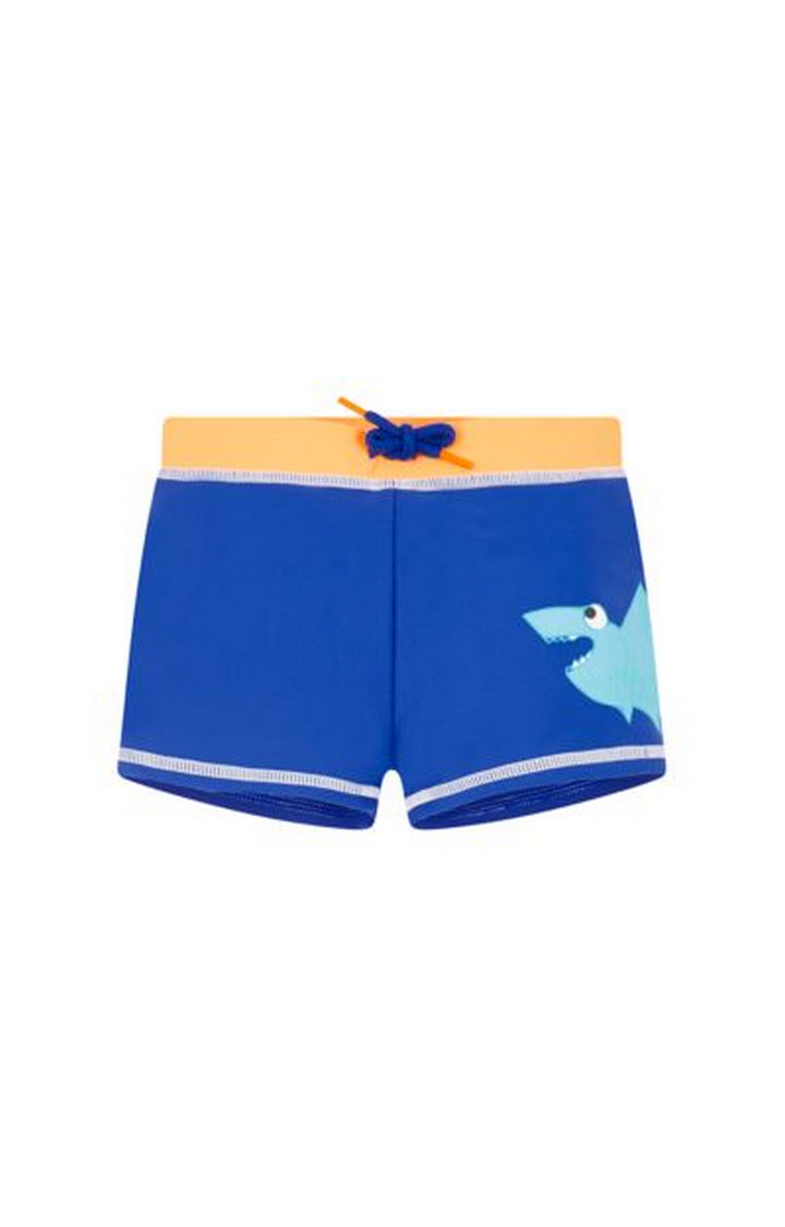 Mothercare | Blue Solid Swimwear Shorts