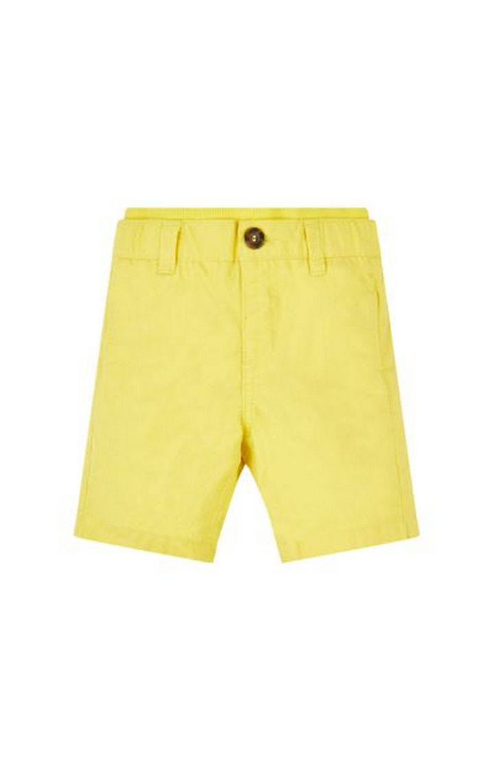 Mothercare | Yellow Solid Shorts