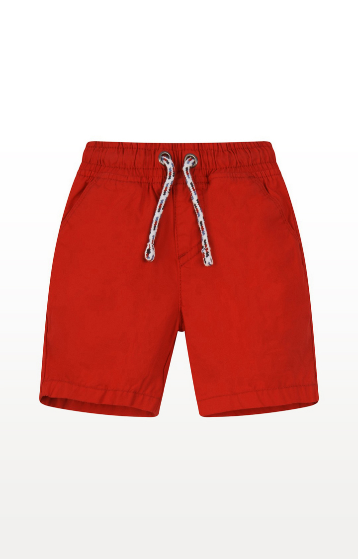Mothercare | Red Poplin Shorts