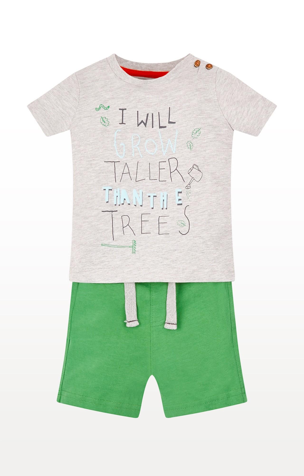 Mothercare   Taller Than Trees T-Shirt And Shorts Set