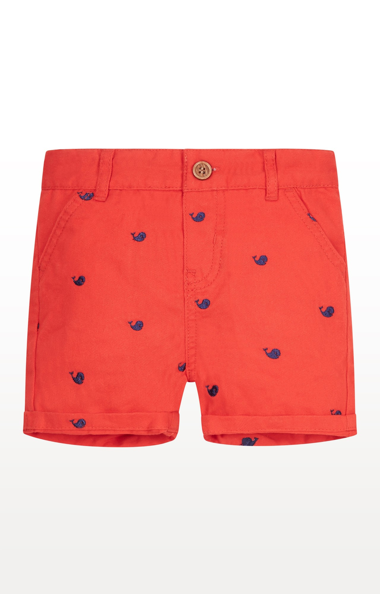 Mothercare   Red Printed Shorts