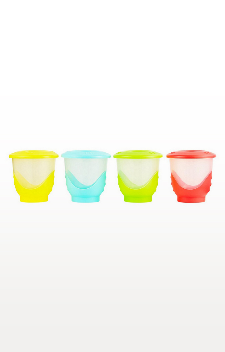 Mothercare | Large Easy Pop Freezer Pots - Pack of 4
