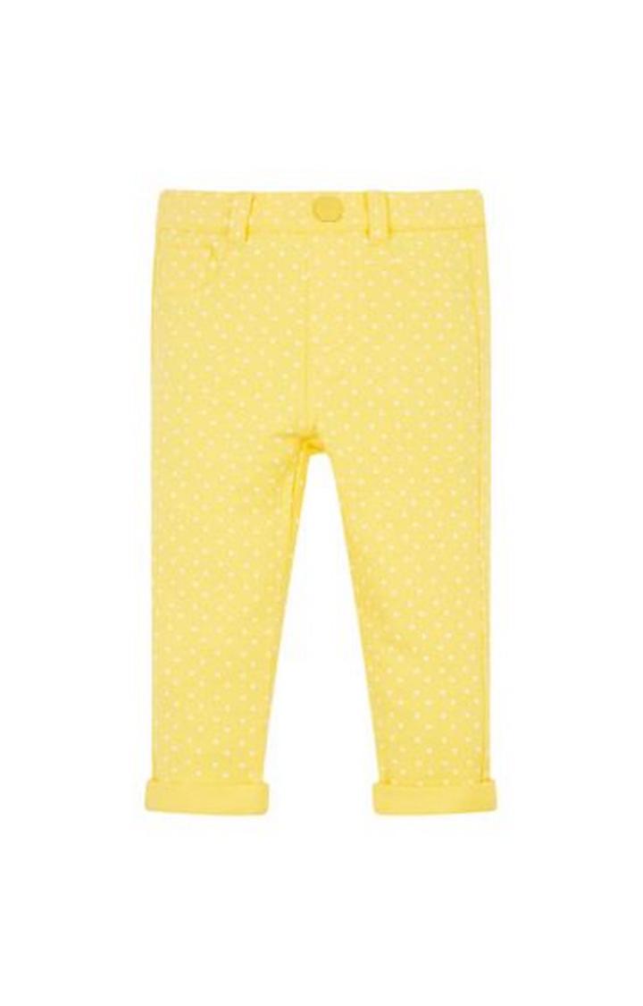 Mothercare | Yellow Polka Dot Jeans
