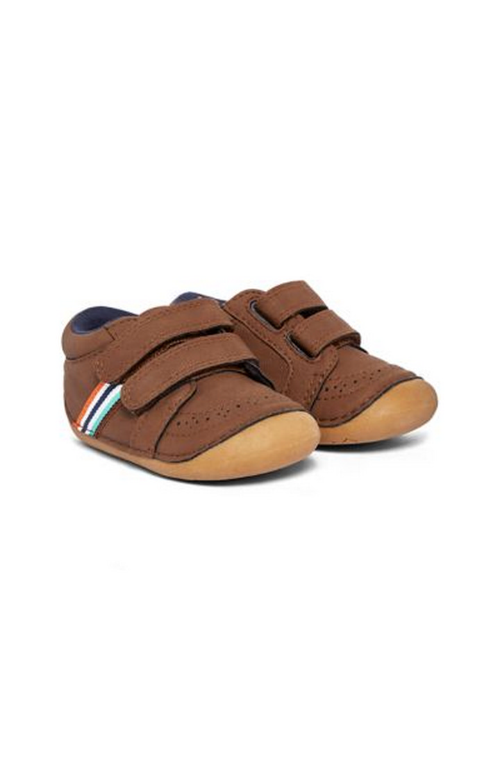 Mothercare | Brown Casual Slip-ons