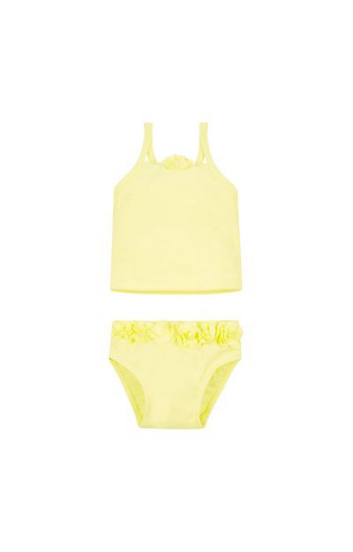Mothercare | Yellow Solid Swimsuit