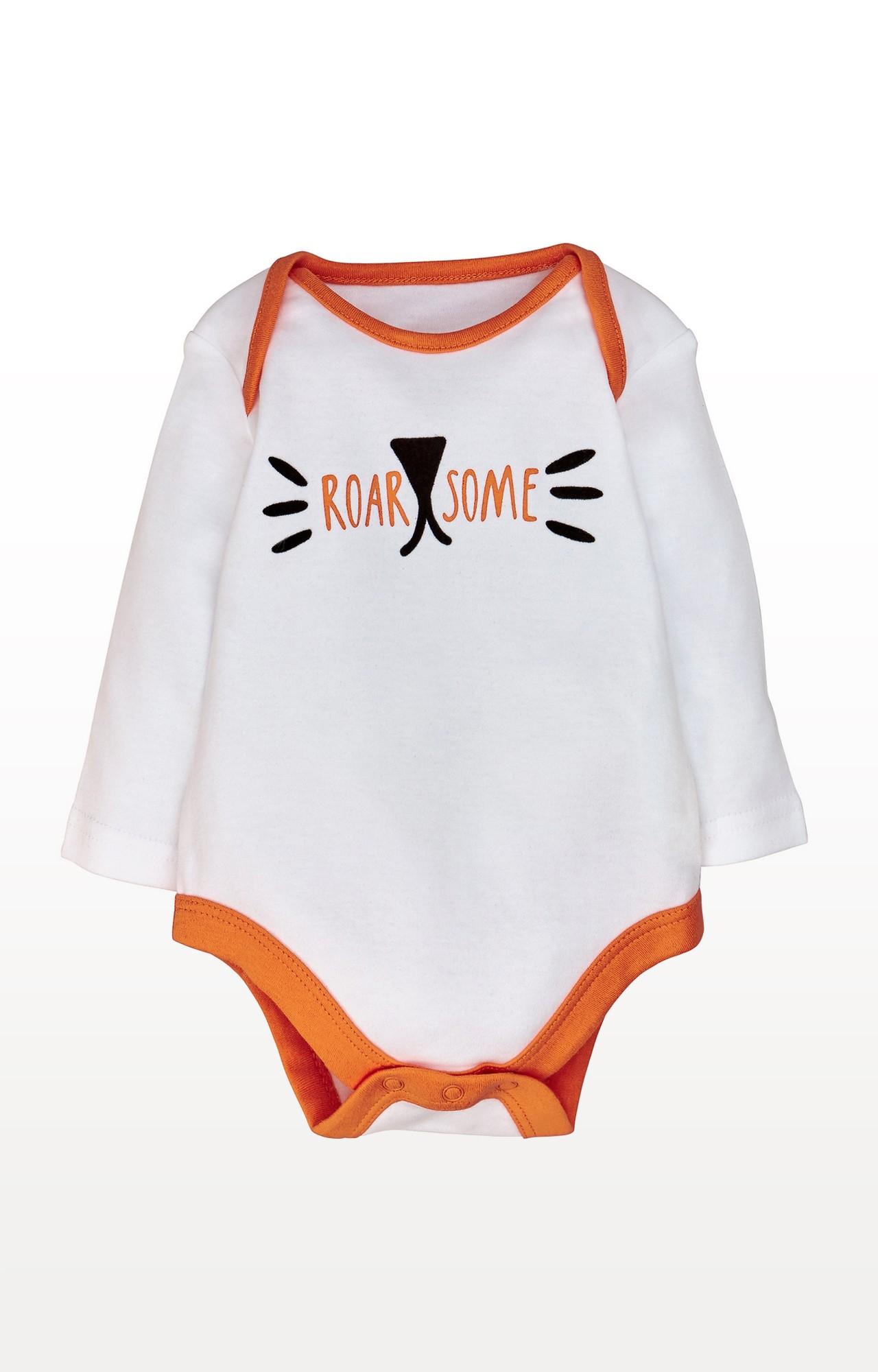 Mothercare | Orange Printed Nightsuit