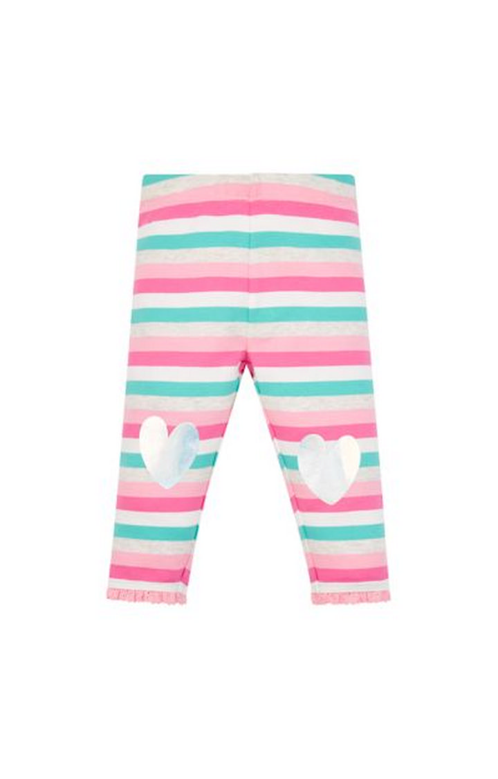 Mothercare | Pink Striped Leggings