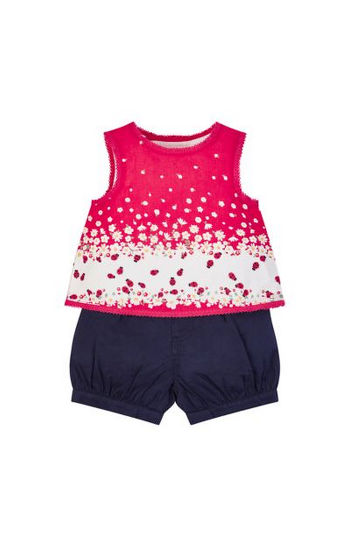 Mothercare | Red Printed Twin Set
