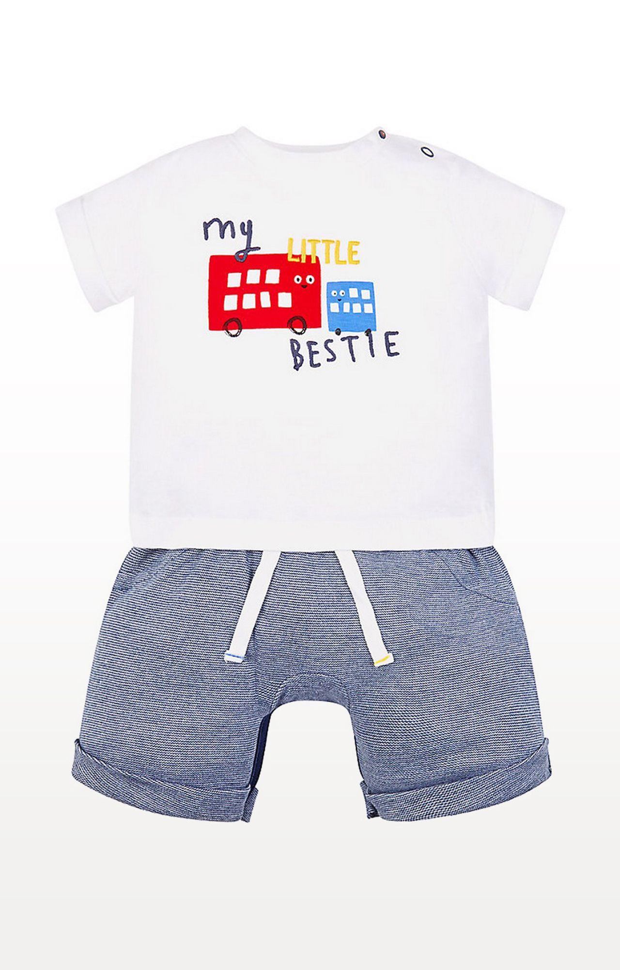 Mothercare   My Little Bestie Mock T-Shirt Romper