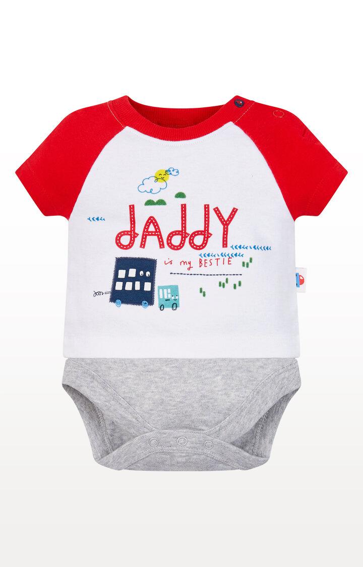 Mothercare | Bestie Daddy Mock T-Shirt Bodysuit