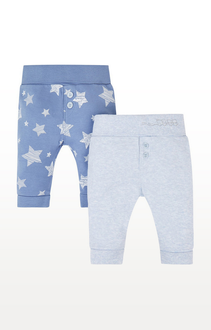 Mothercare | My First Blue Leggings - 2 Pack