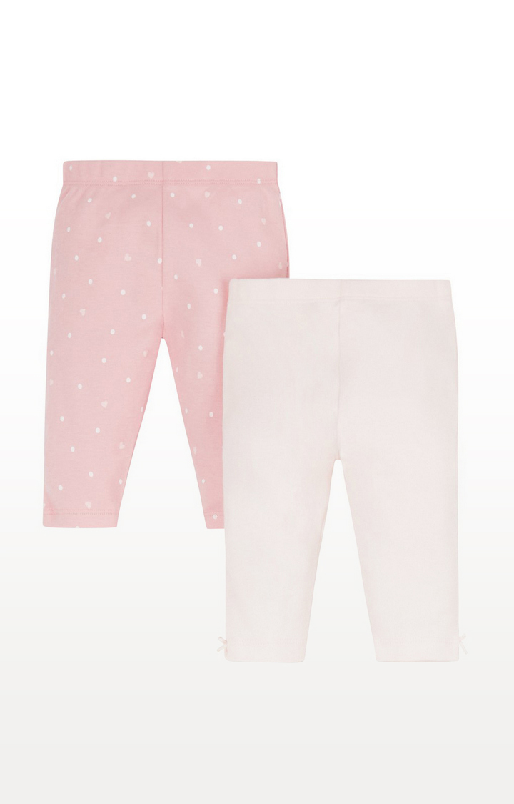 Mothercare | My First Pink Leggings - 2 Pack