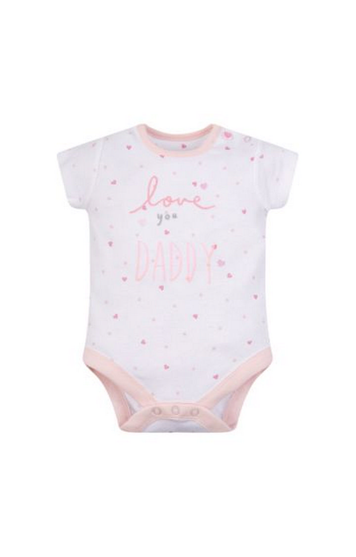 Mothercare | My First Love You Daddy Bodysuit