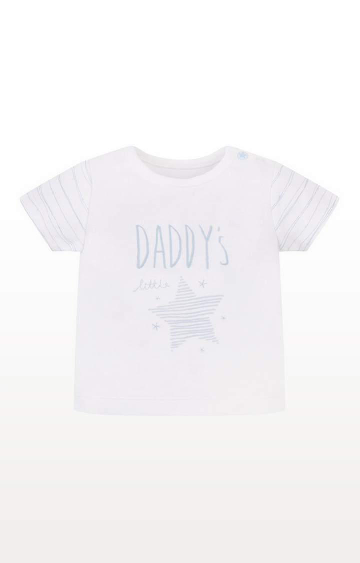 Mothercare   My First Daddy'S Little Star Top
