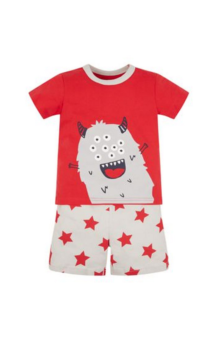 Mothercare   Red Printed Nightsuit