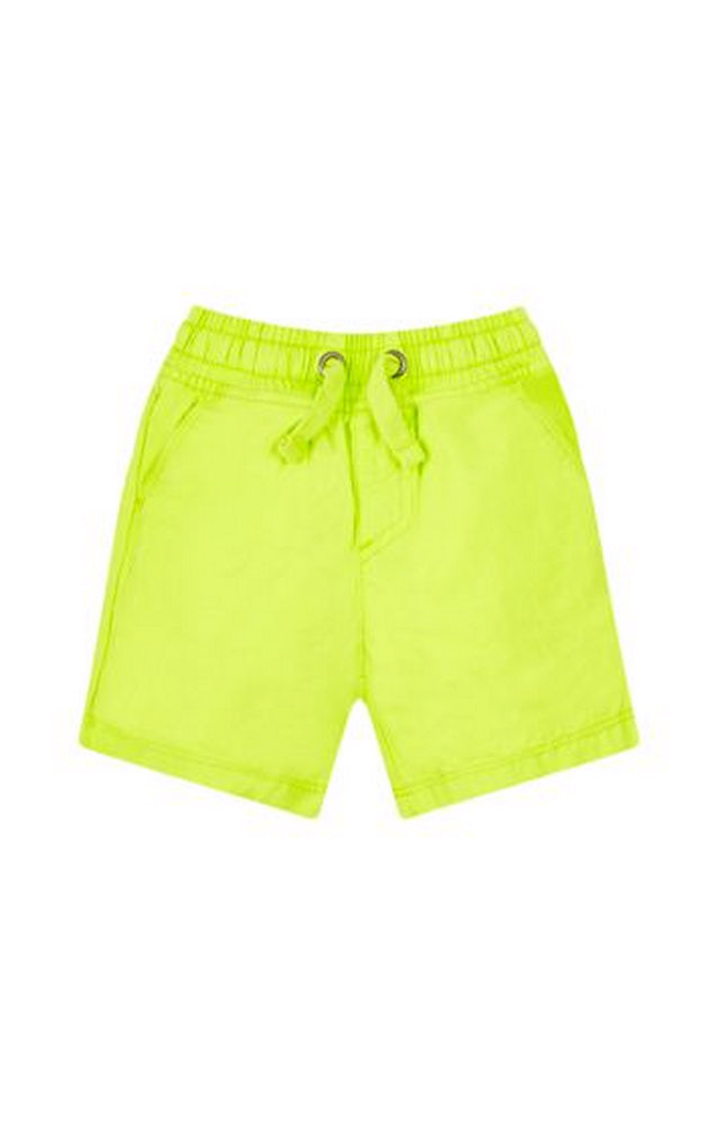 Mothercare   Lime Solid Shorts