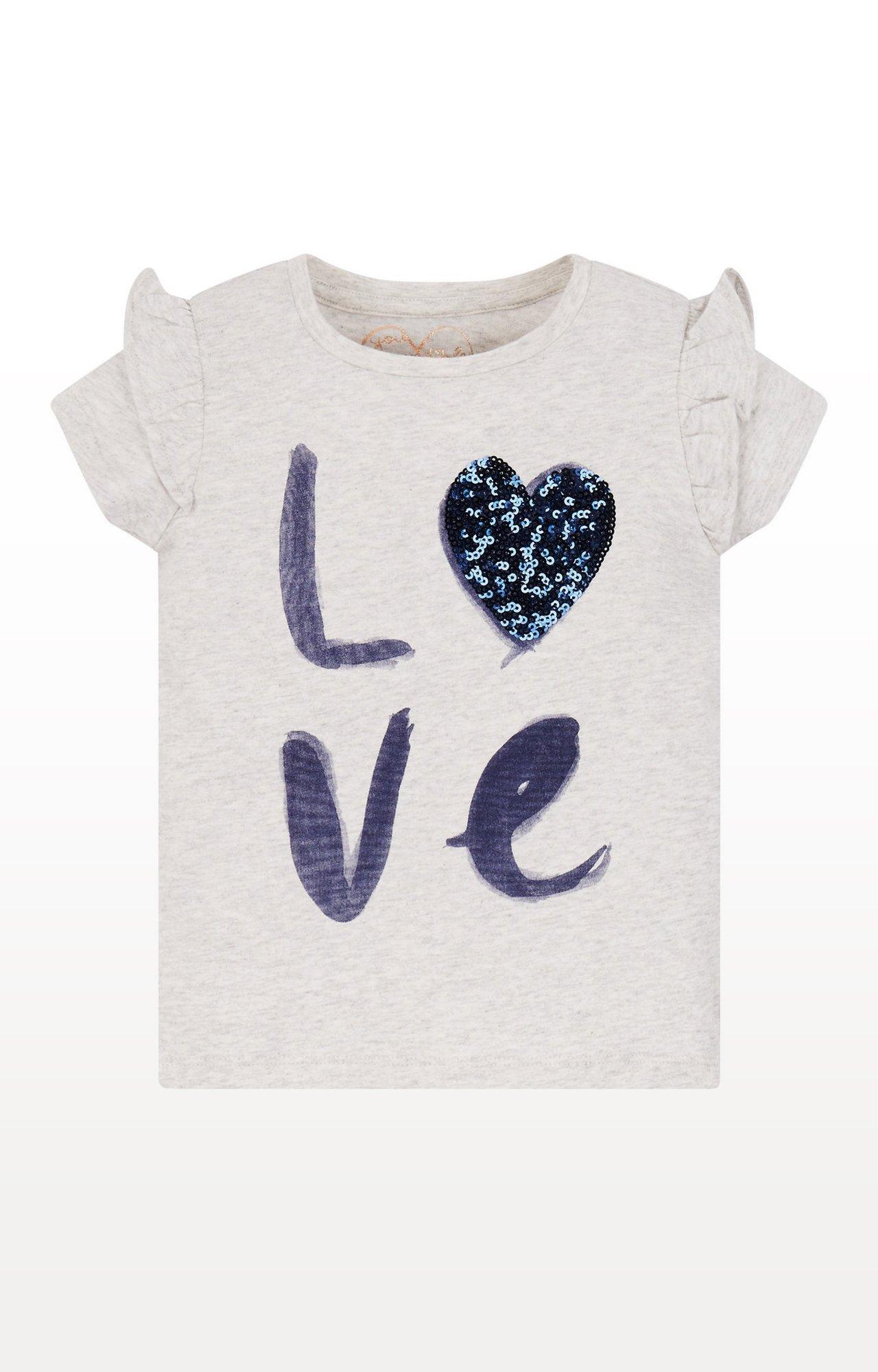 Mothercare | Grey Printed Top