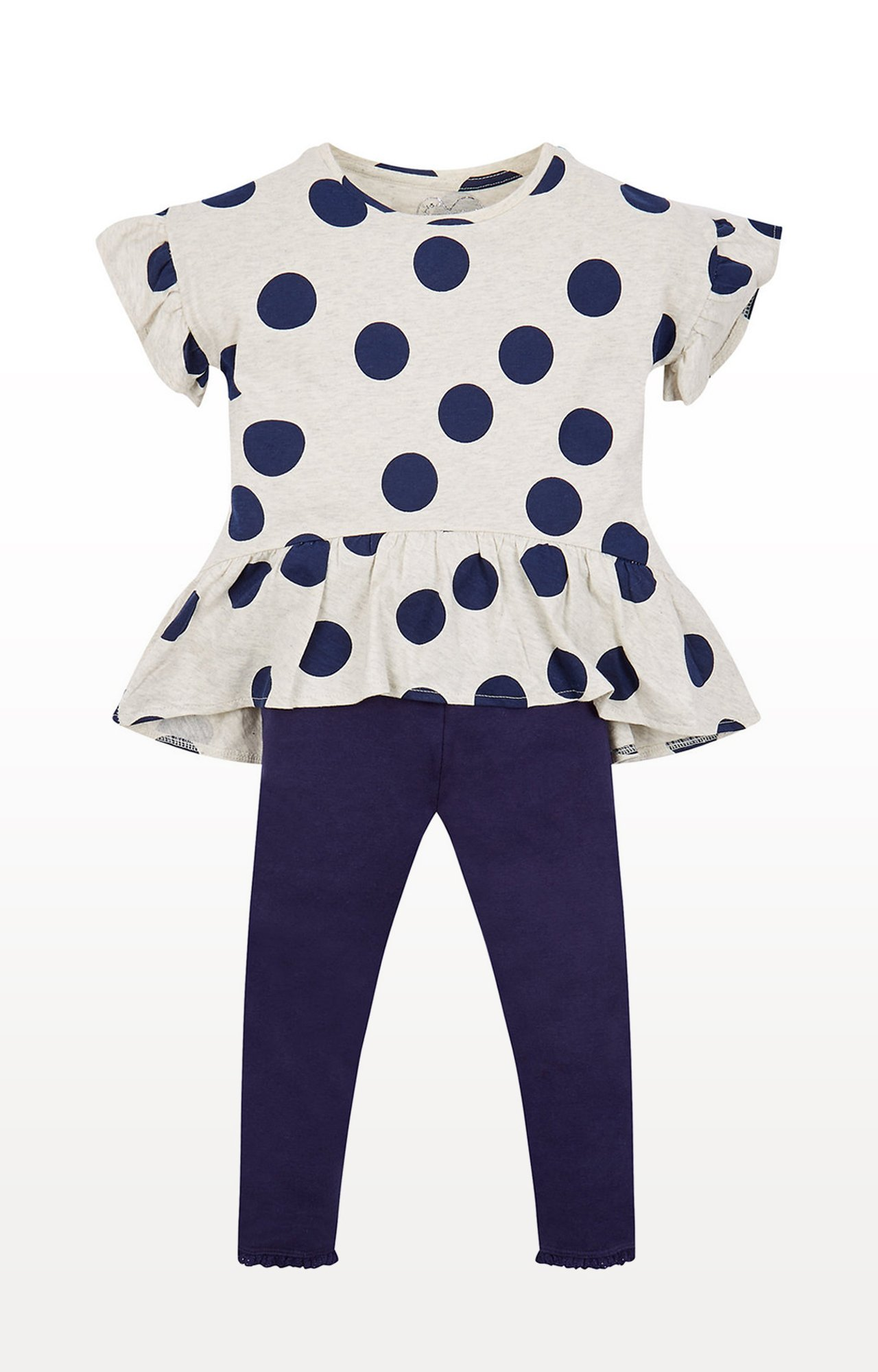 Mothercare | Spotty Top And Leggings Set