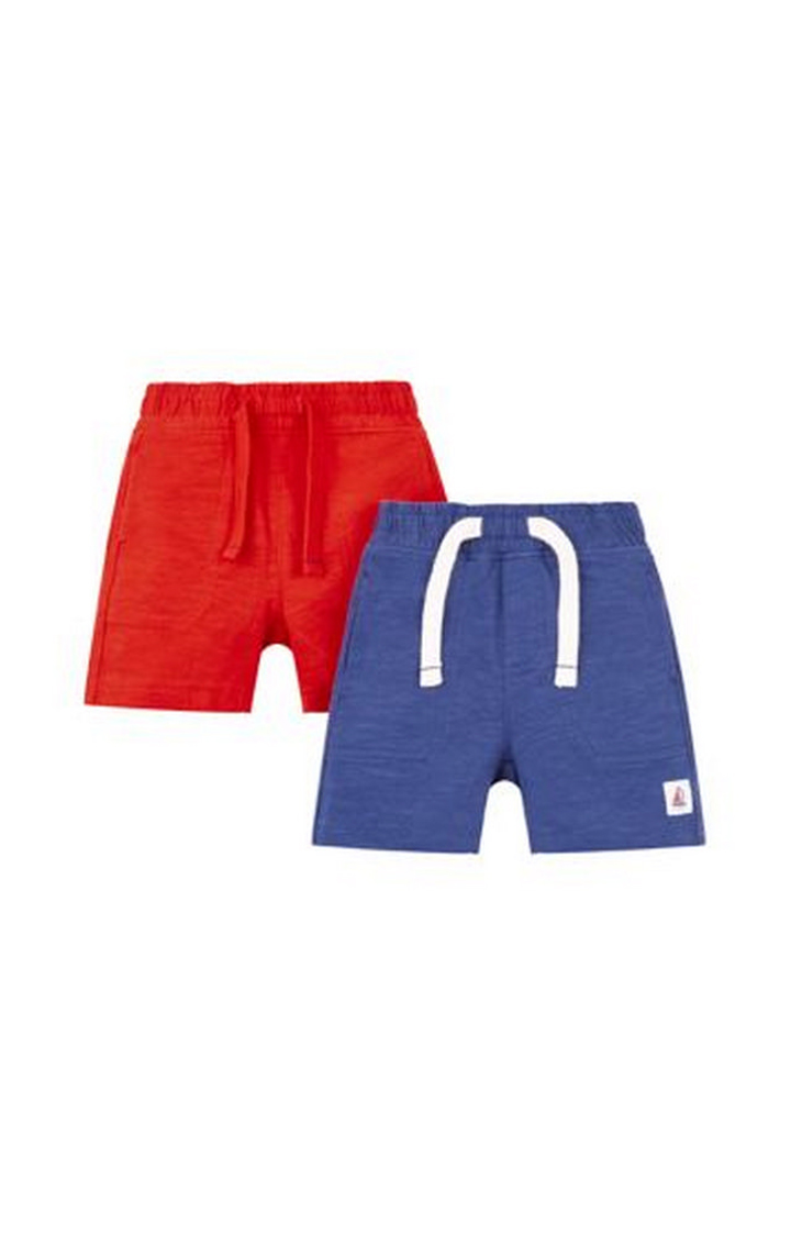 Mothercare | Red And Navy Shorts - 2 Pack