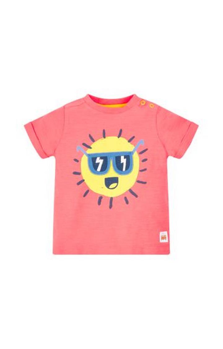 Mothercare | Coral Sunshine T-Shirt