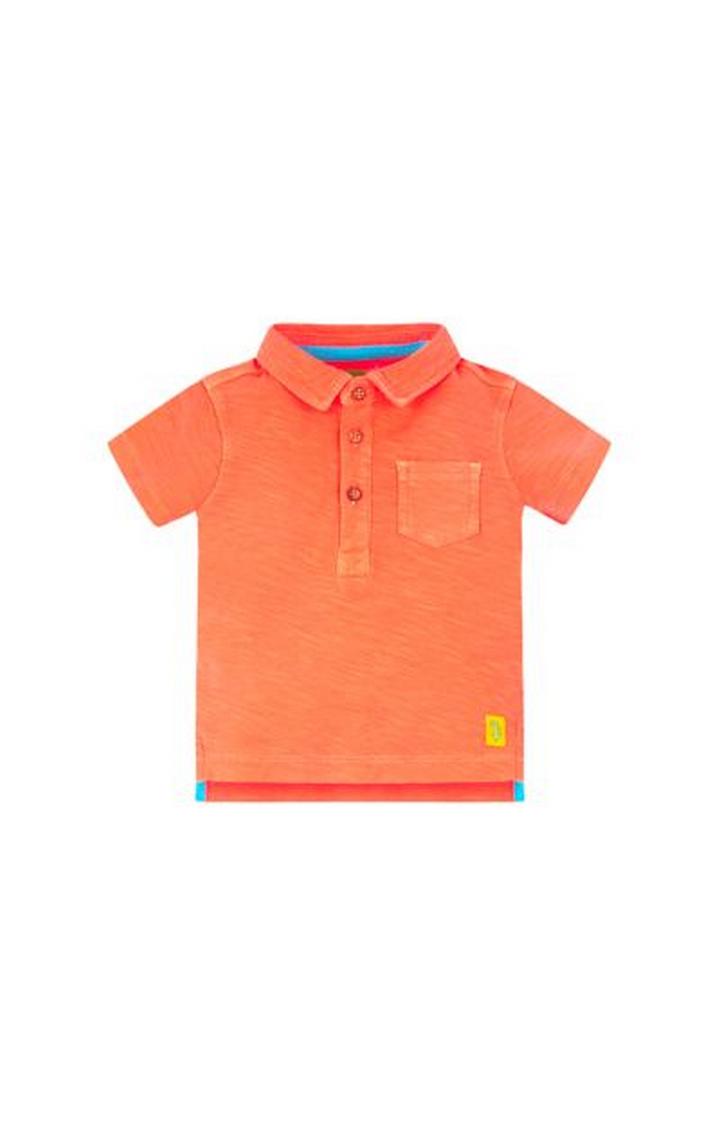 Mothercare | Orange Reverse Slub Polo Shirt