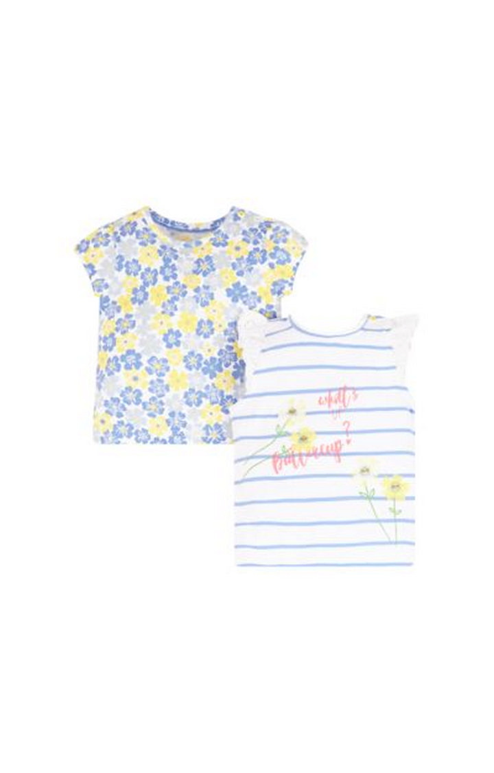 Mothercare | Blue Printed Top - Pack of 2