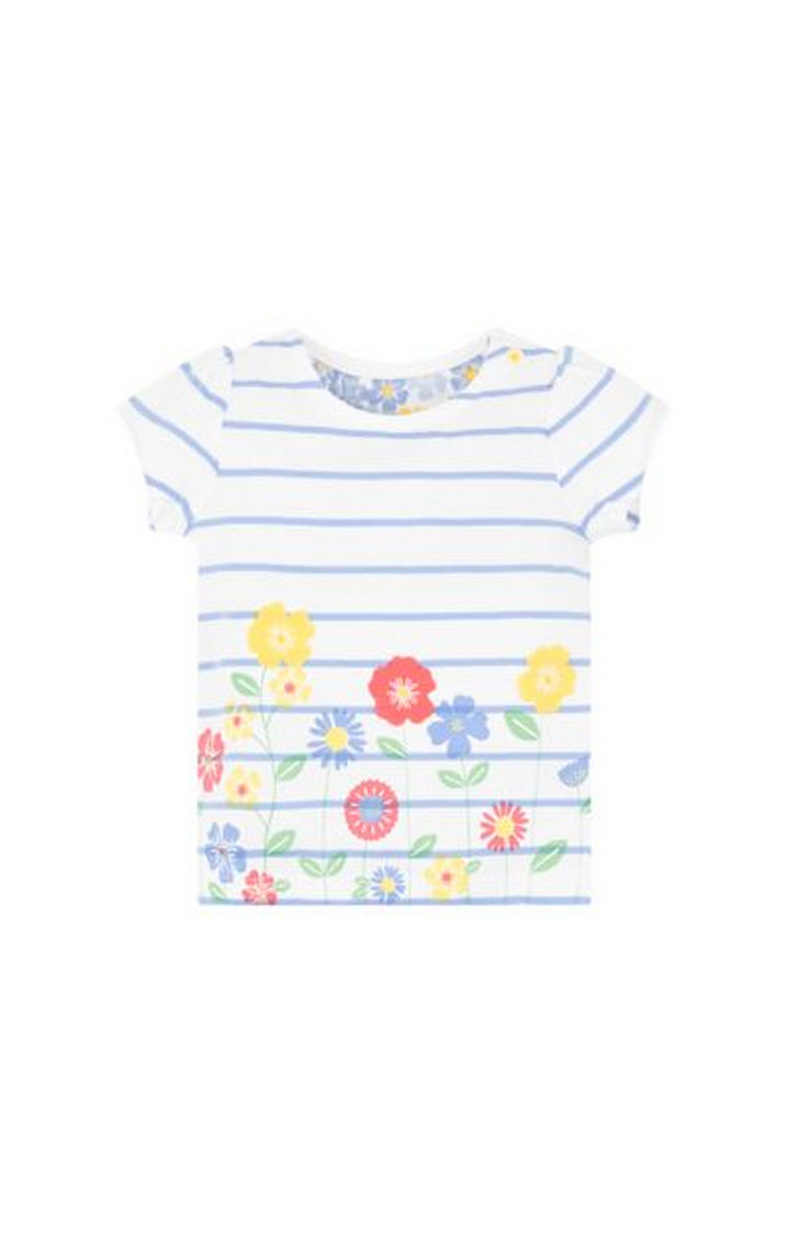 Mothercare | White Printed Top